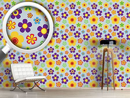Pattern Wallpaper Flower Power In Spring