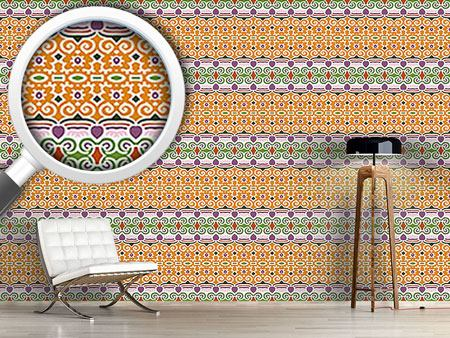 Pattern Wallpaper Decorated Way