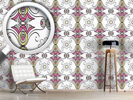 Pattern Wallpaper Bloomer