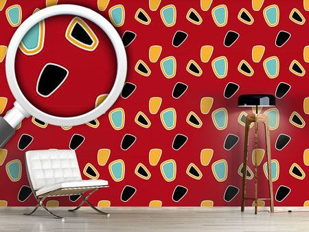 Pattern Wallpaper The Graphic Sixties