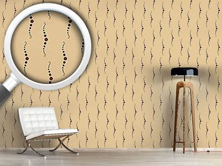 Pattern Wallpaper Pearl Diver Sand