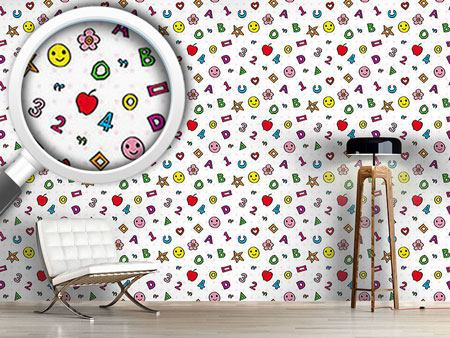 Pattern Wallpaper Lisas Childhood Dream