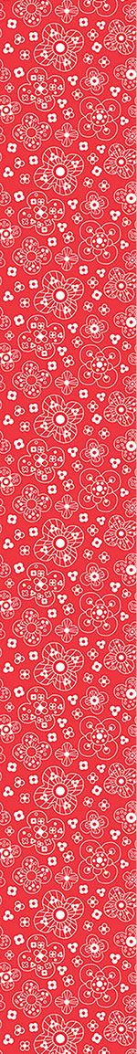 Pattern Wallpaper Catherine Red