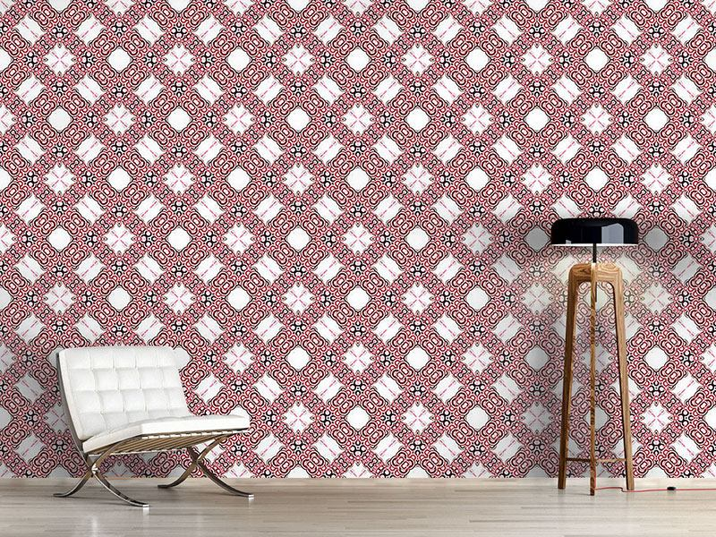 Pattern Wallpaper Ring-a-ring-a-roses