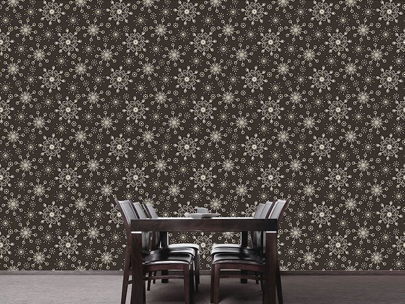 Pattern Wallpaper Light And Flaky