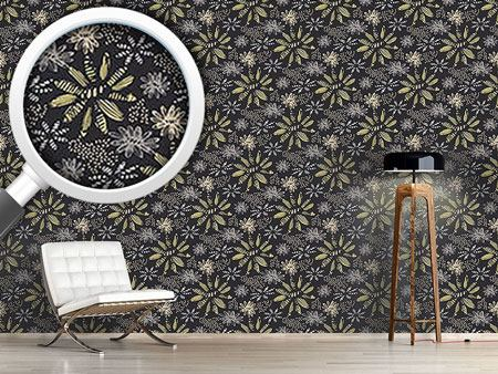 Pattern Wallpaper Nula Nero