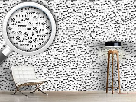 Pattern Wallpaper Pizzicato Flor