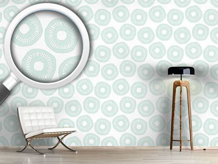 Pattern Wallpaper Sunshine Pastel Blue