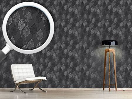 Pattern Wallpaper Nuance In Grey