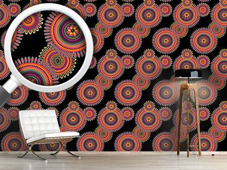 Pattern Wallpaper The Journey Of The Floral Mandalas