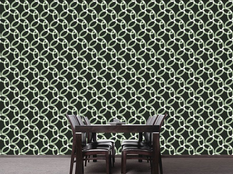 Pattern Wallpaper In Chains