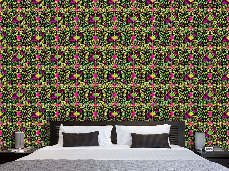 Pattern Wallpaper Pop Art Renaissance
