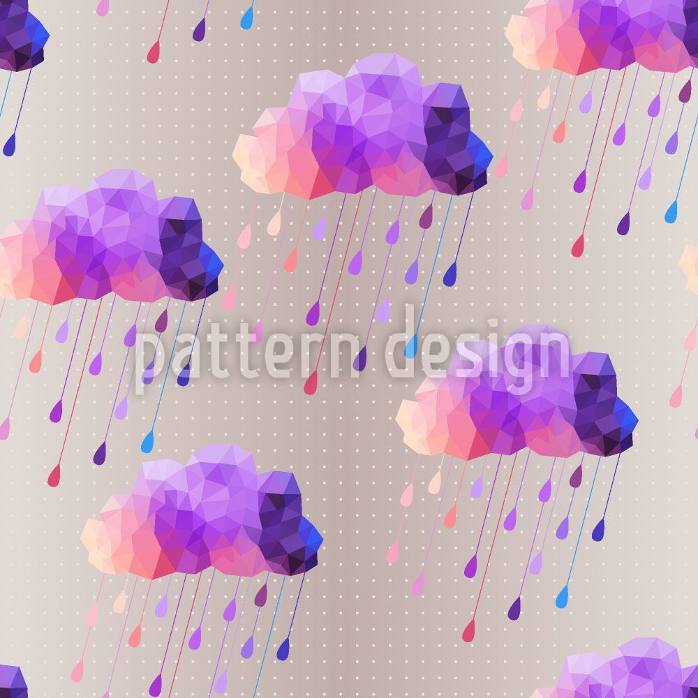 Pattern Wallpaper Hipster Clouds