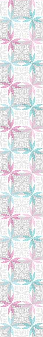 Pattern Wallpaper Scandinavian Star Frost