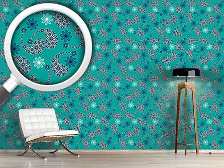 Pattern Wallpaper Paisley Friendship