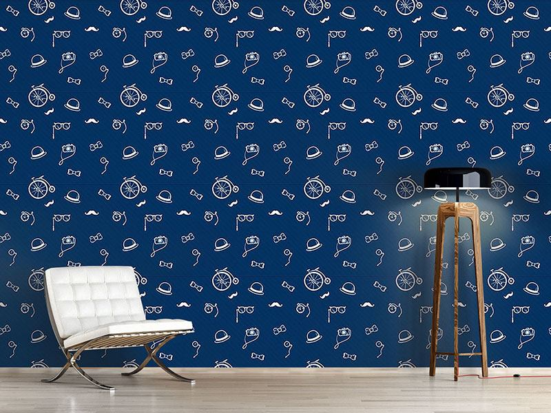 Pattern Wallpaper Doctor Watsons Kit