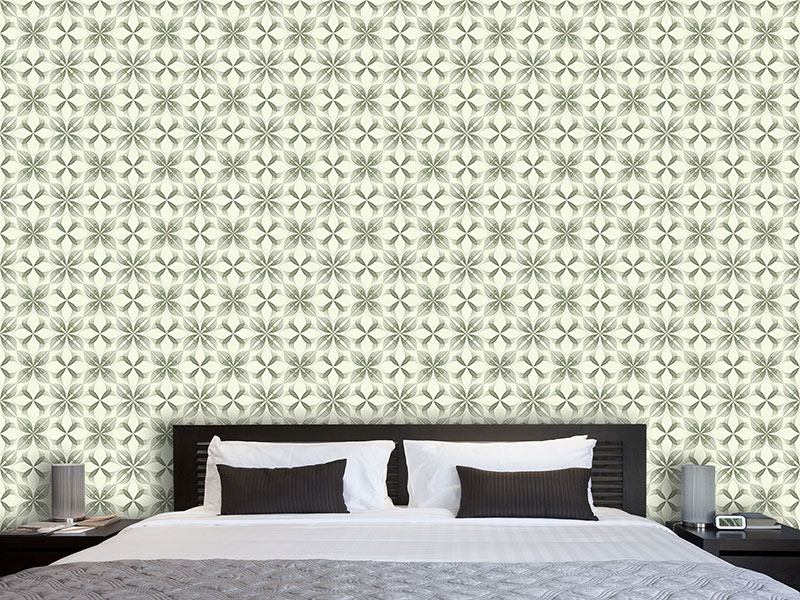 Pattern Wallpaper The Luminescence Of The Flowers