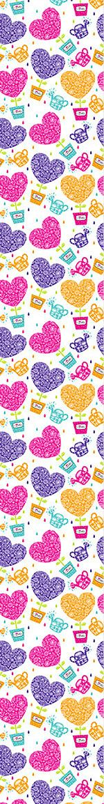 Pattern Wallpaper Hearts Need Water And Love