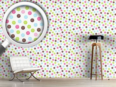 Pattern Wallpaper Soap Bubbles Fun