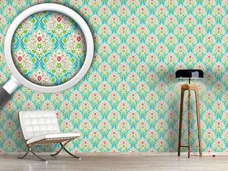 Pattern Wallpaper Damask Of Summer