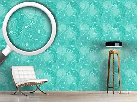 Pattern Wallpaper Miros Underwater Patchwork