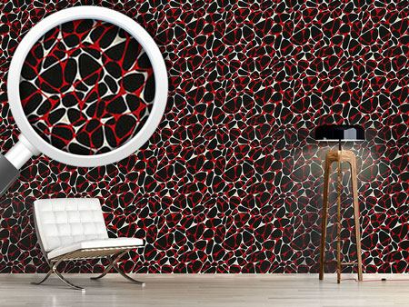 Pattern Wallpaper Clipped Stones