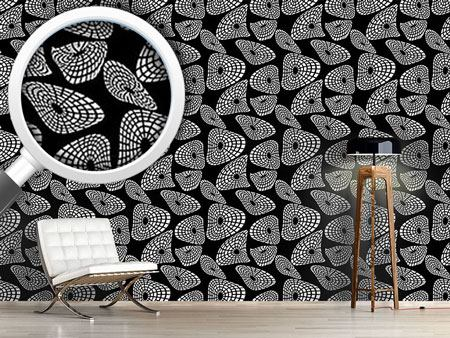 Pattern Wallpaper Moving Shapes
