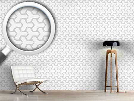 Pattern Wallpaper Dotted Tetrapods