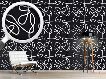 Pattern Wallpaper No Target Black