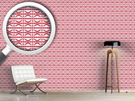 Pattern Wallpaper Mosaic Stripes