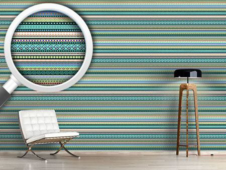 Pattern Wallpaper Ethnic Influence