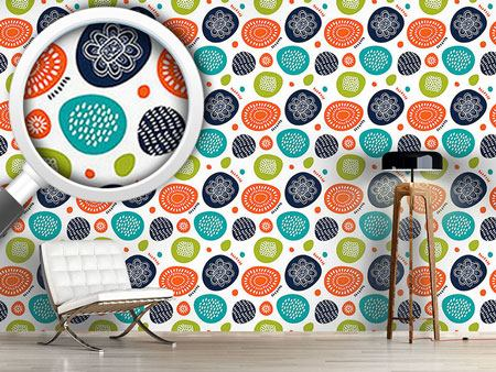 Pattern Wallpaper Scandinavian Summers