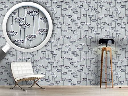Pattern Wallpaper Fennel