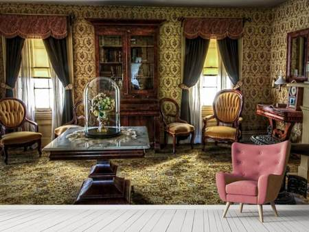 Photo Wallpaper Retro living room