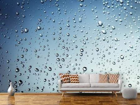 Photo Wallpaper A wall of rain