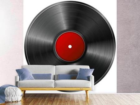 Photo Wallpaper Retro record