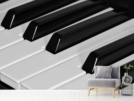 Photo Wallpaper Piano keys XL