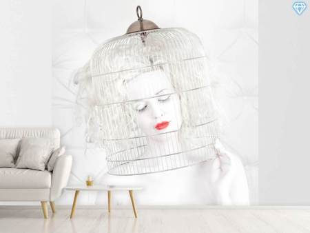 Photo Wallpaper Birdcage Love