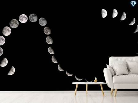 Photo Wallpaper Moon Path