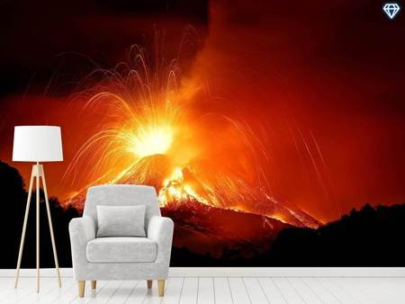 Photo Wallpaper Monte Etna