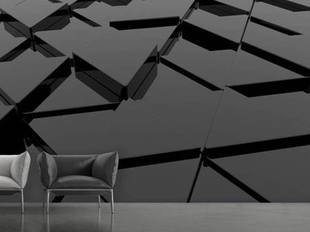 Photo Wallpaper 3D Triangular Surfaces