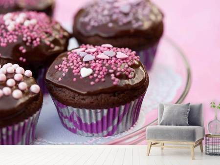 Photo Wallpaper Muffins