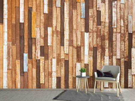Photo Wallpaper Design Wood
