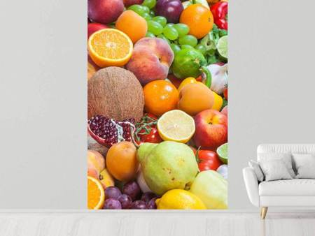 Fotobehang Fresh Fruits