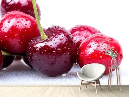 Photo Wallpaper Cherries