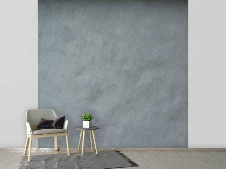 Fotobehang Dark Gray Wall
