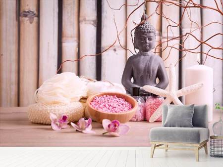 Photo Wallpaper Spa & Buddha